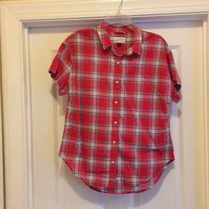 Universal Thread Medium Plaid Cotton Shirt